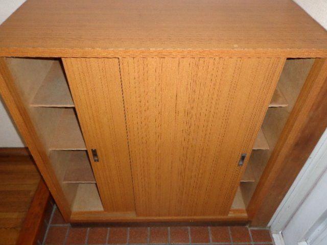 玄関横の下駄箱