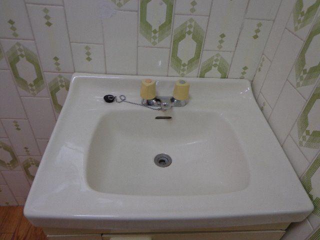 洗面台があって便利です