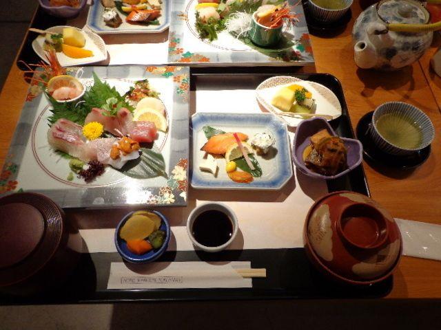 ホテルサンルート徳山の和食「お造り御膳」