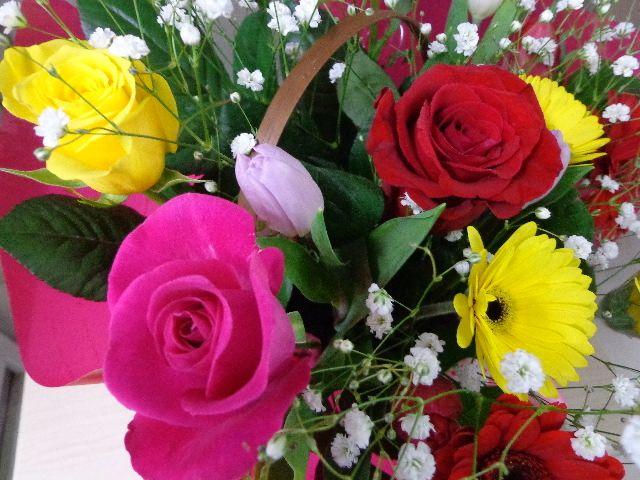 父の日にはバラの花をプレゼント