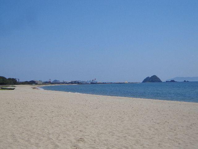 虹ケ浜海水浴場と「なぎさ公園」~光市