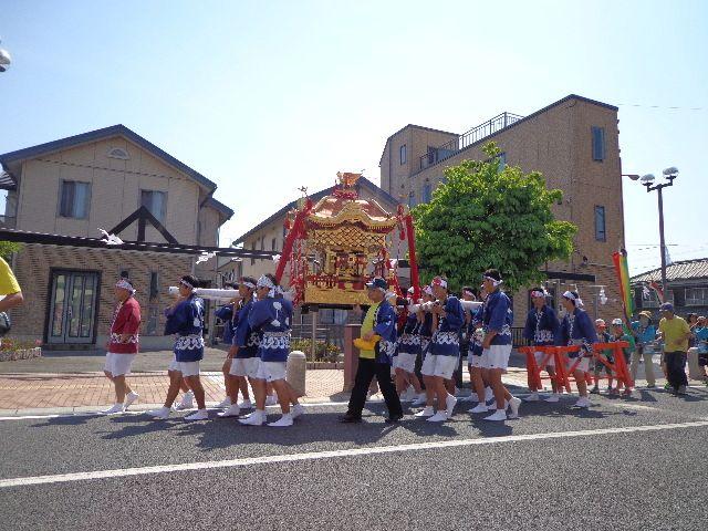 「荒神祭」の神輿(みこし)~山口県下松市のお祭り